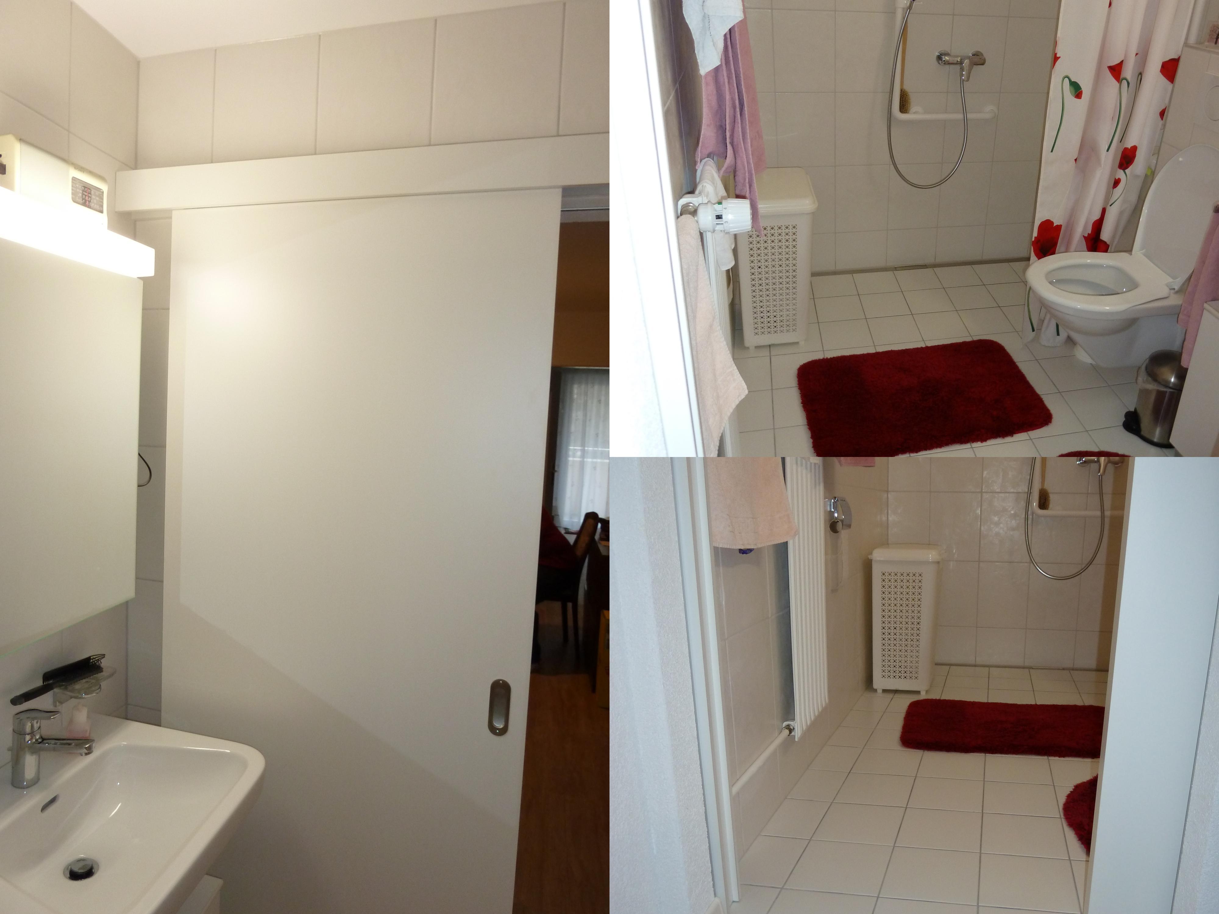 Création d'une salle de bain pour personnes à mobilité réduite